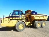 5x Caterpillar Articulated Dump Trucks