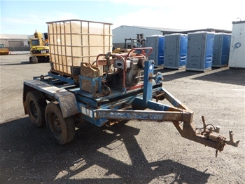 Trailer Mounted Pressure Cleaner