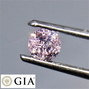 One Loose GIA Pink Diamond 0.28ct in Tot