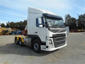 2015 Volvo FM Euro 5 450 6 x 4 Prime Mover Truck
