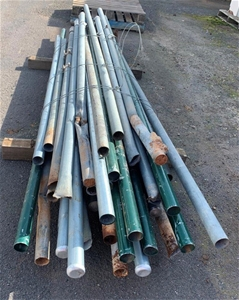 Bulk Lot of Old Sign Posts