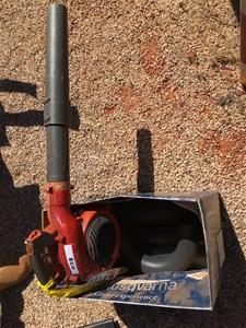 Husqvarna 125BV Blower with Vacuum Attac