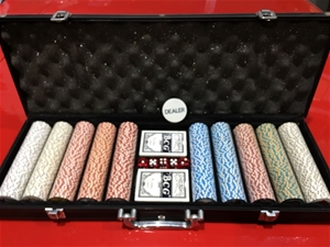 1 x Deluxe Poker Set
