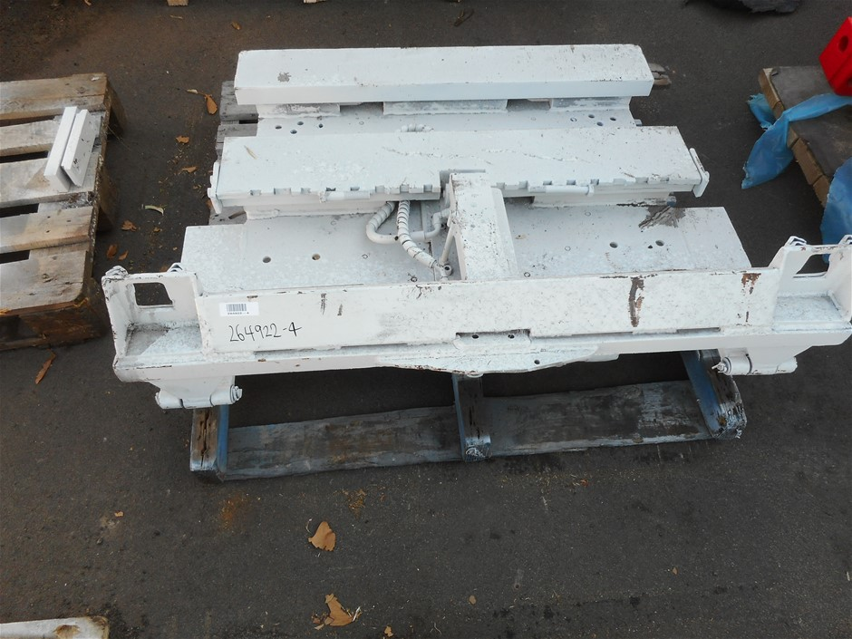 Unknown Hydraulic Adjustable Lift/ Rotating Fork Attachment