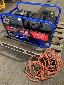 Portable 3 in 1 generator/compressor/wel