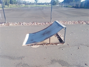 Skatepark Small Kicker Ramp