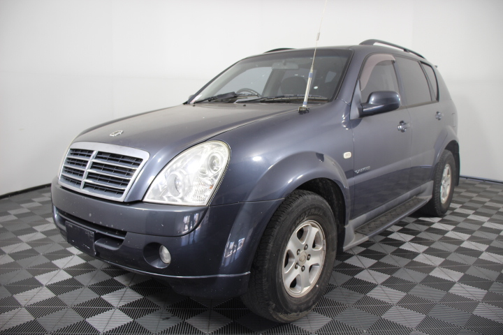2008 Ssangyong Rexton RX270 Sports Series II T/Diesel Auto 7 Seats