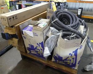 Pallet of assorted Vacuum accessories in