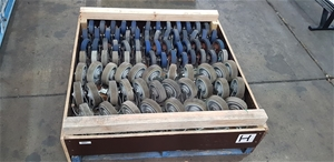 Bulk Lot of Industrial Casters