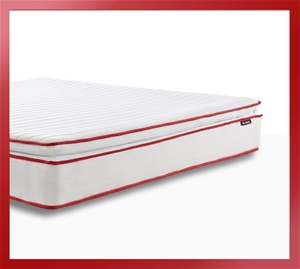 Apollo Red - Pillow Top Mattress with Tw