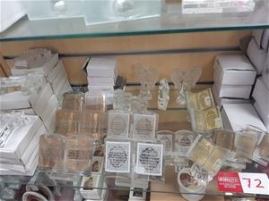 87 x Various Glass Religious Items