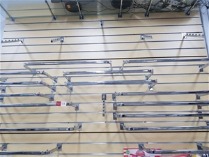 21 x Assorted Silver Clothes Racks for S