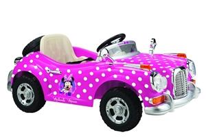 Minnie Vintage Car Electric Ride On Car