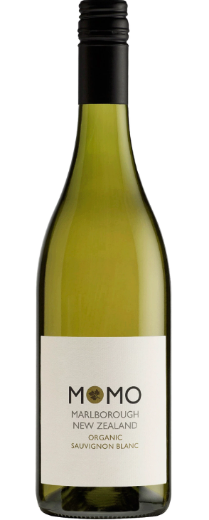Momo Sauvignon Blanc 2018 (12 x 750mL), Marlborough, NZ. Organic