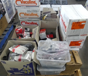 Pallet Contain Assorted Products and Vac
