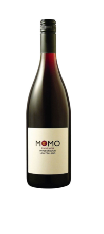 Momo Pinot Noir 2017 (12 x 750mL), Marlborough, NZ.