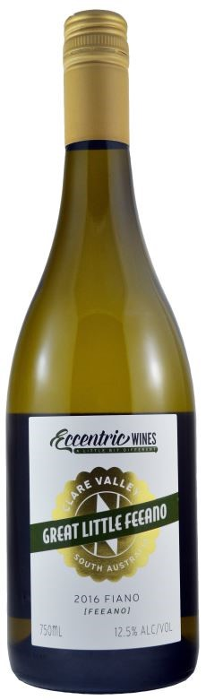 Eccentric Wines Fiano 2016 (6 x 750mL) Clare Valley, SA