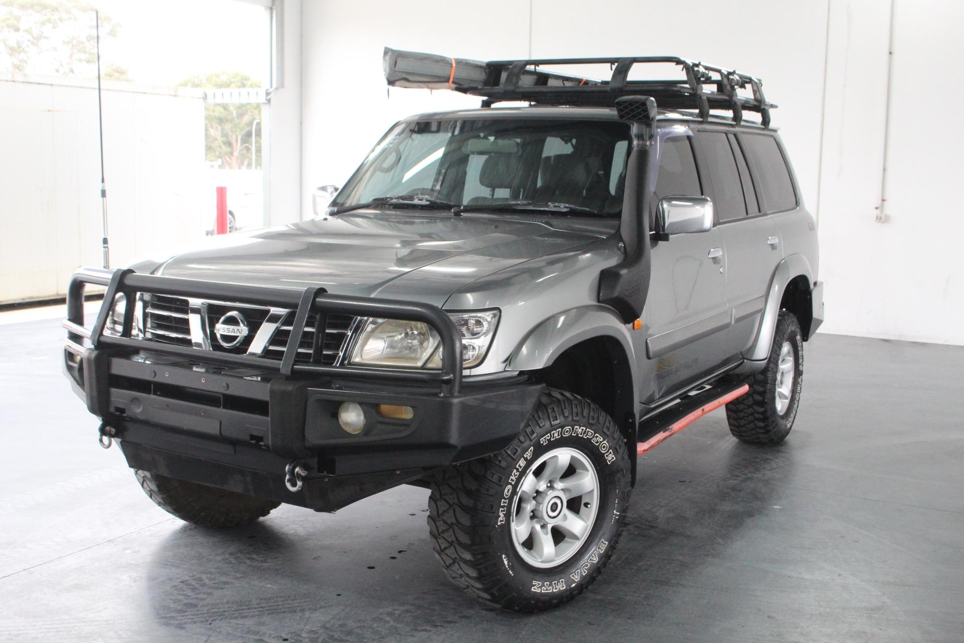 2002 Nissan Patrol Ti (4x4) GU II Automatic 7 Seats Wagon (Dual Fuel)