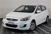 2016 Hyundai Accent Active RB Automatic Hatchback