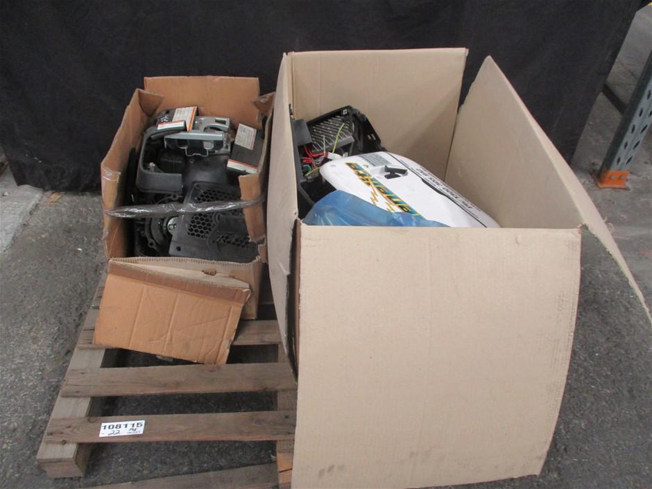 Pallet Qty x Generator Parts