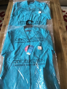 2 x City Collection Corporate Shirts, Si