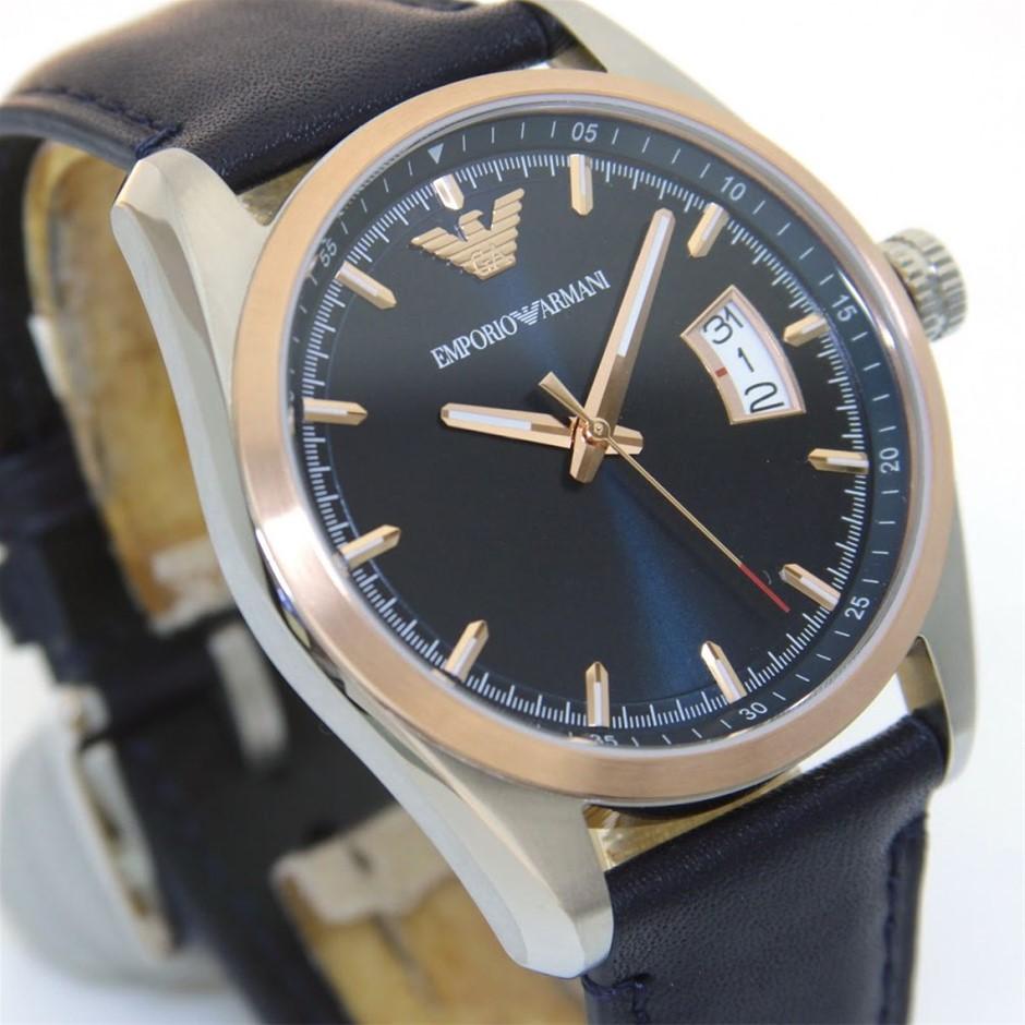 Very stylish new Emporio Armani Sunray unisex watch.