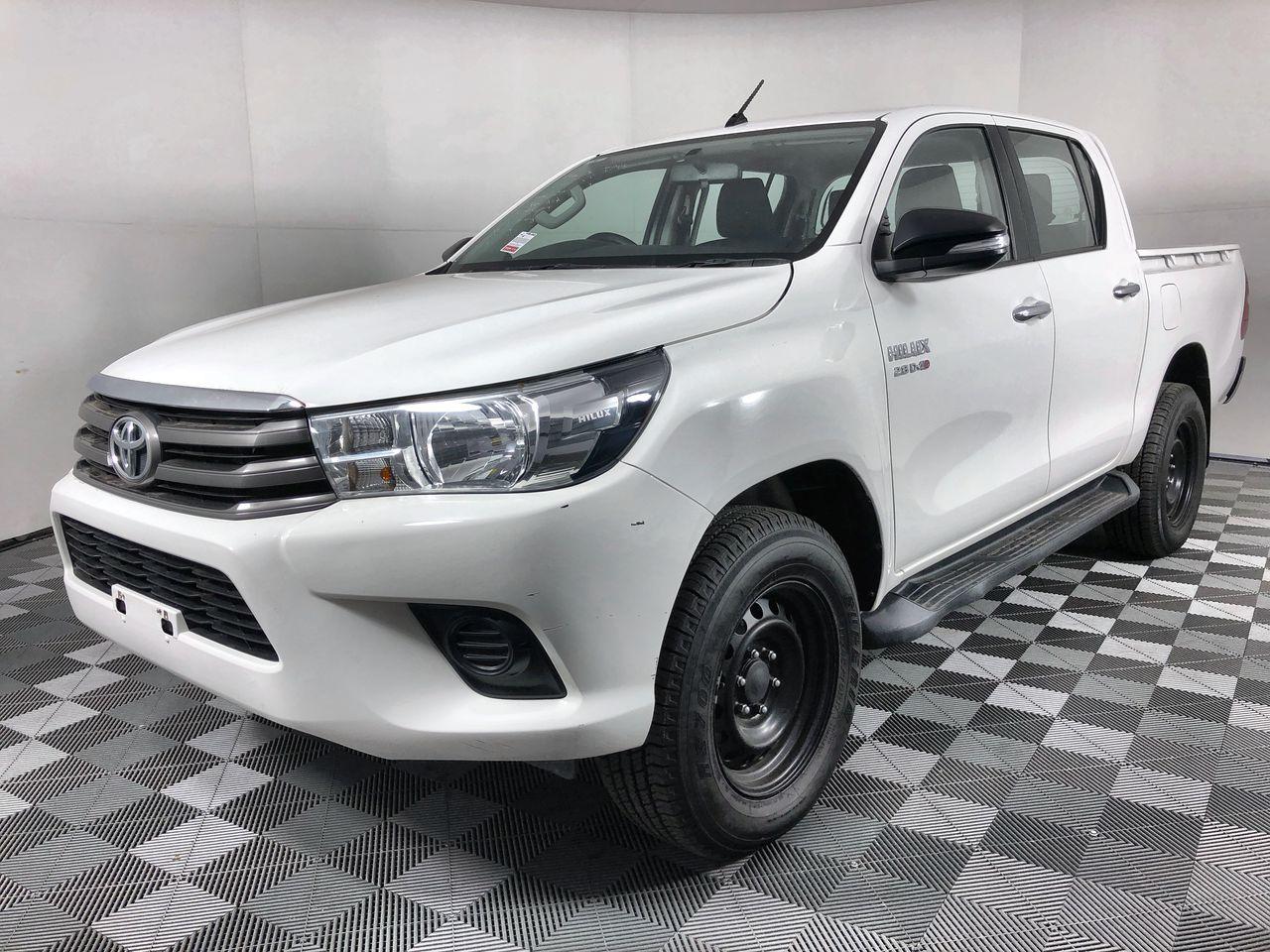 2017 Toyota Hilux 2.8T/D Auto 4WD 81,102 km's