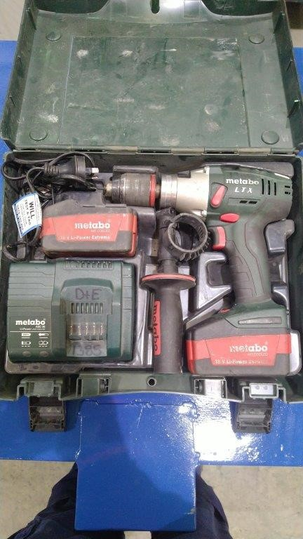 Cordless Drill (Metabo)