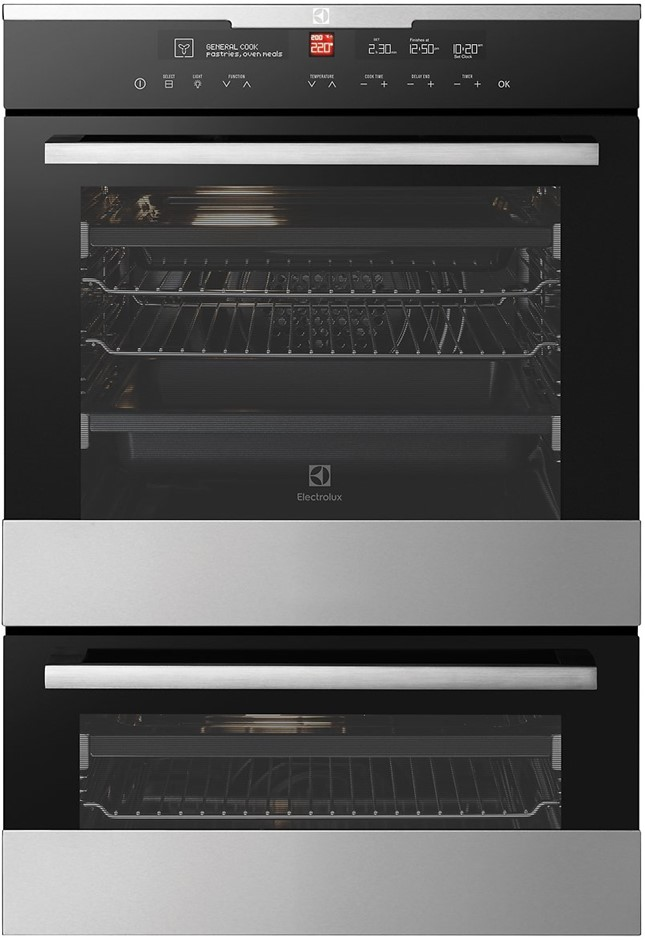 Electrolux EVE626SC 60cm Electric Built-In Double Oven