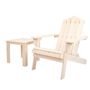Gardeon Outdoor Beach Chairs Table Set W