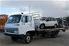 1985 Isuzu 4 x 2 Diesel Beavertail Truck