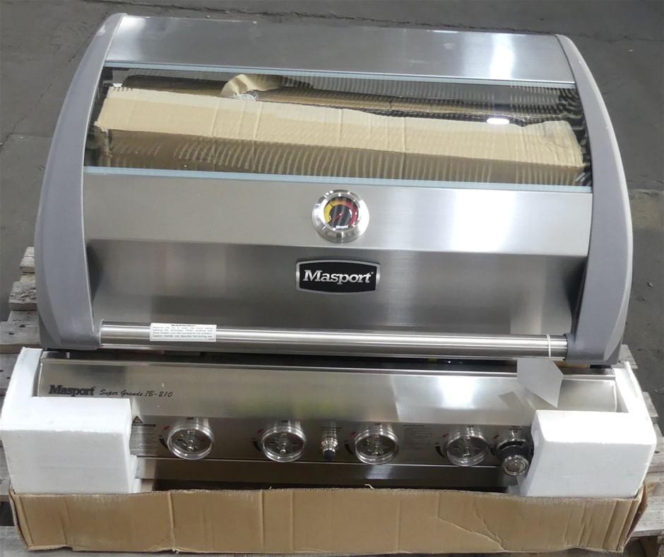 Masport 552720 Super Grande Inbuilt RBW-210 6 Burner Gas BBQ