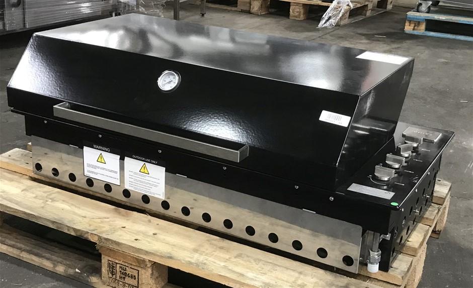Artusi ABBQ1B built-in 4 Burner Gas BBQ