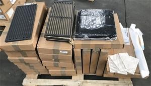 Steel Pallet of assorted BBQ accessories
