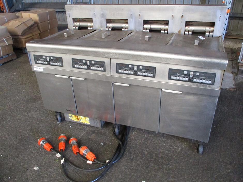 Frymaster FPRE417CSC 4-Tub Deep Fryer BG Series