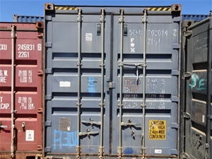 Container, 20 Foot, High Cube (B-Type)