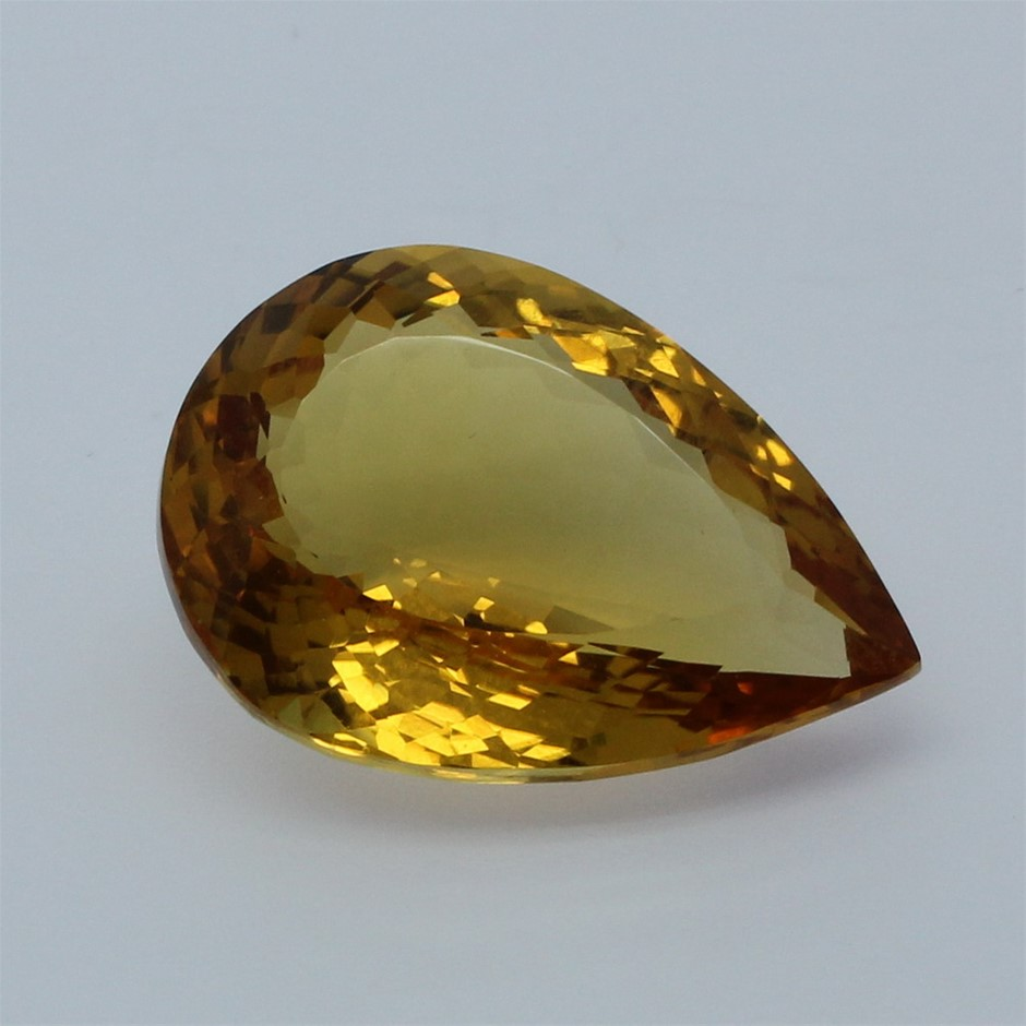 One Loose Citrine, 26.10ct in Total
