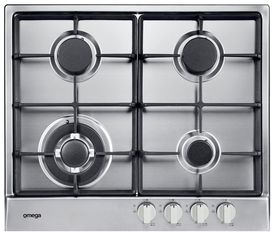 Omega OCG64X 60cm Natural Gas Cooktop