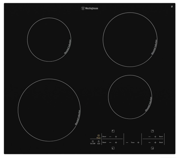 Westinghouse WHI644BA 60cm Induction Cooktop