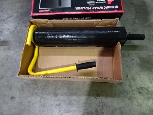 Shrink Wrap Holder With Roll Of Shrink Wrap (Pooraka, SA)