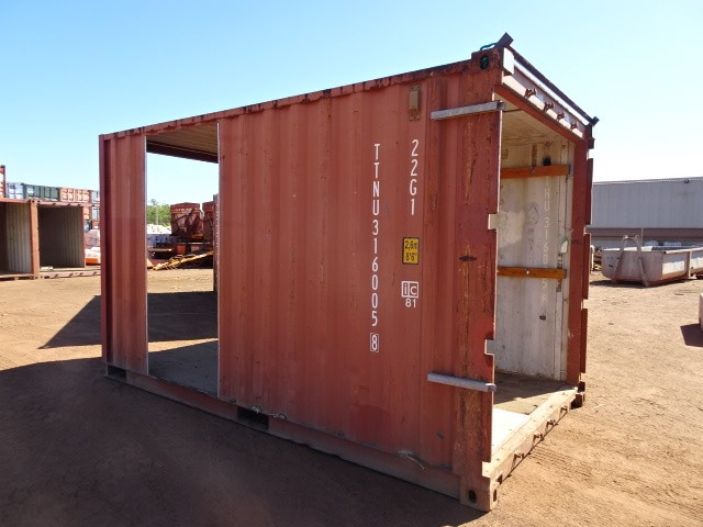 Walkway/Shelter, Container, 10 Foot, Standard (B-Type)