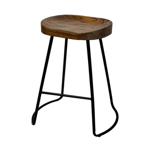 Artiss Set of 2 Wooden Backless Bar Stoo
