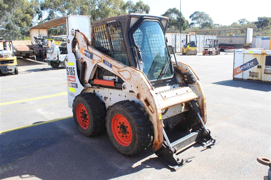 2011 Bobcat S185 Skid Steel Loader