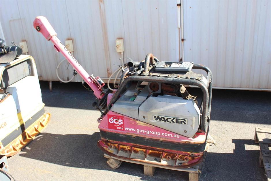 2008 Wacker Neuson 334Kg Diesel Plate Compactor