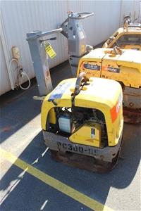 2012 Atlas Copco 265Kg Diesel Plate Comp