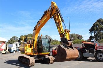 2010 JCB JS130LC Excavator