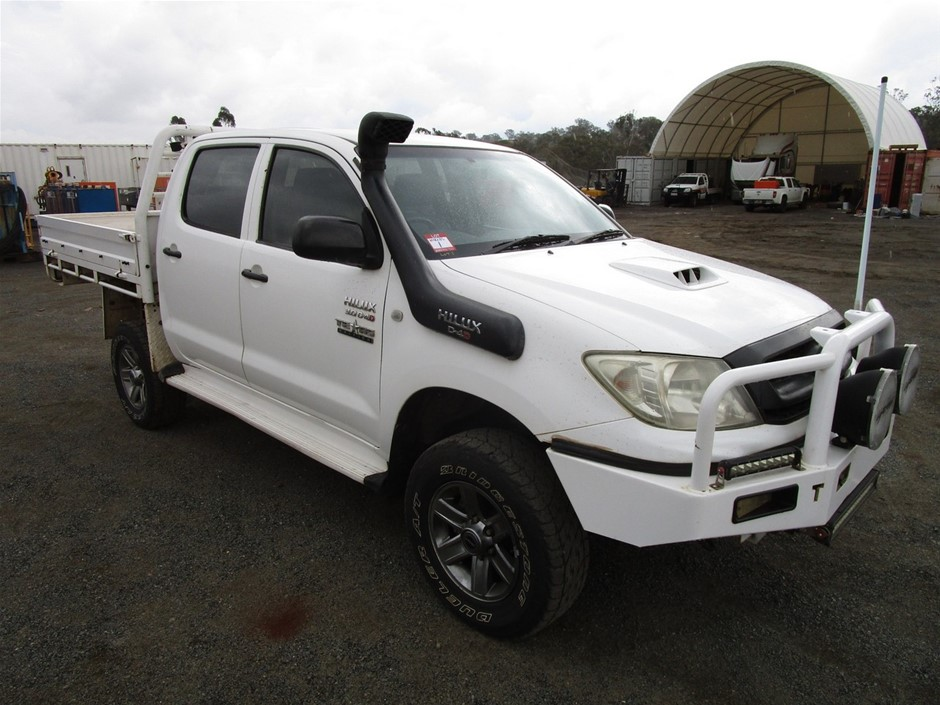 Toyota Hilux Texas Edition 4WD Manual - 5 Speed Dual Cab Ute