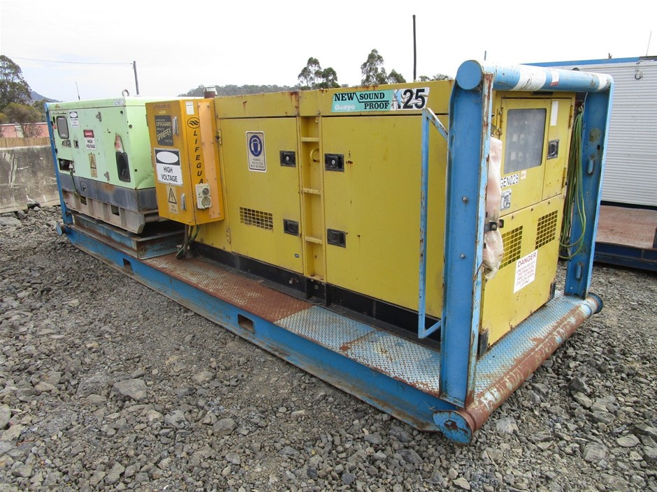 2 x Skid Mounted Generators