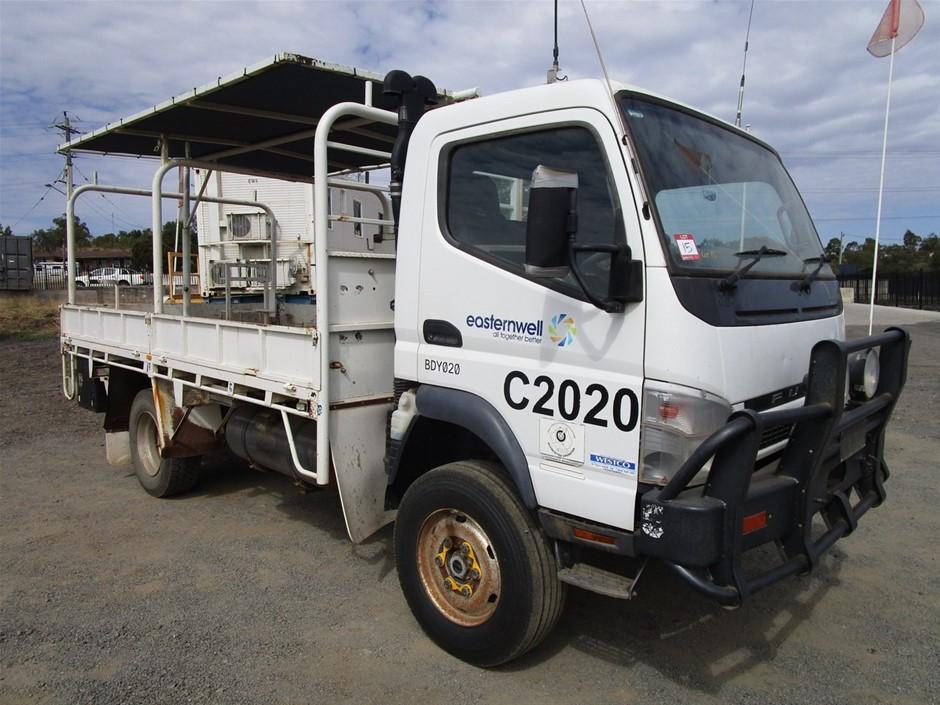 2011 Mitsubishi Fuso Canter 3.0T 4x4 Tray Body Truck
