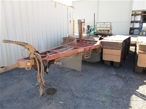 2014 Tristar Triaxle Dolly Trailer